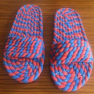 Loeffler Randall sandal slides